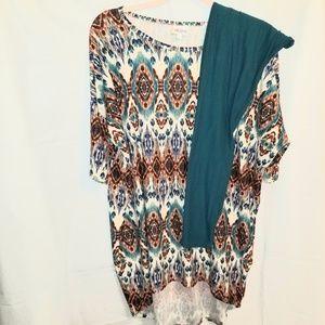 LulaRoe Irma & OS Outfit
